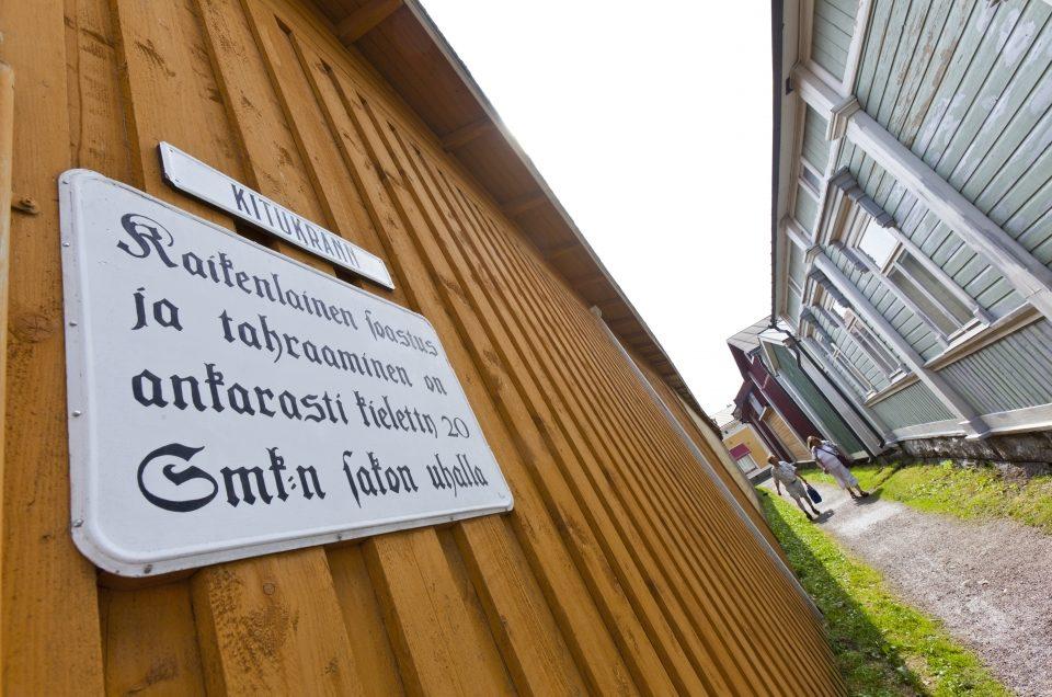 Kitukränn, Suomen kapein katu