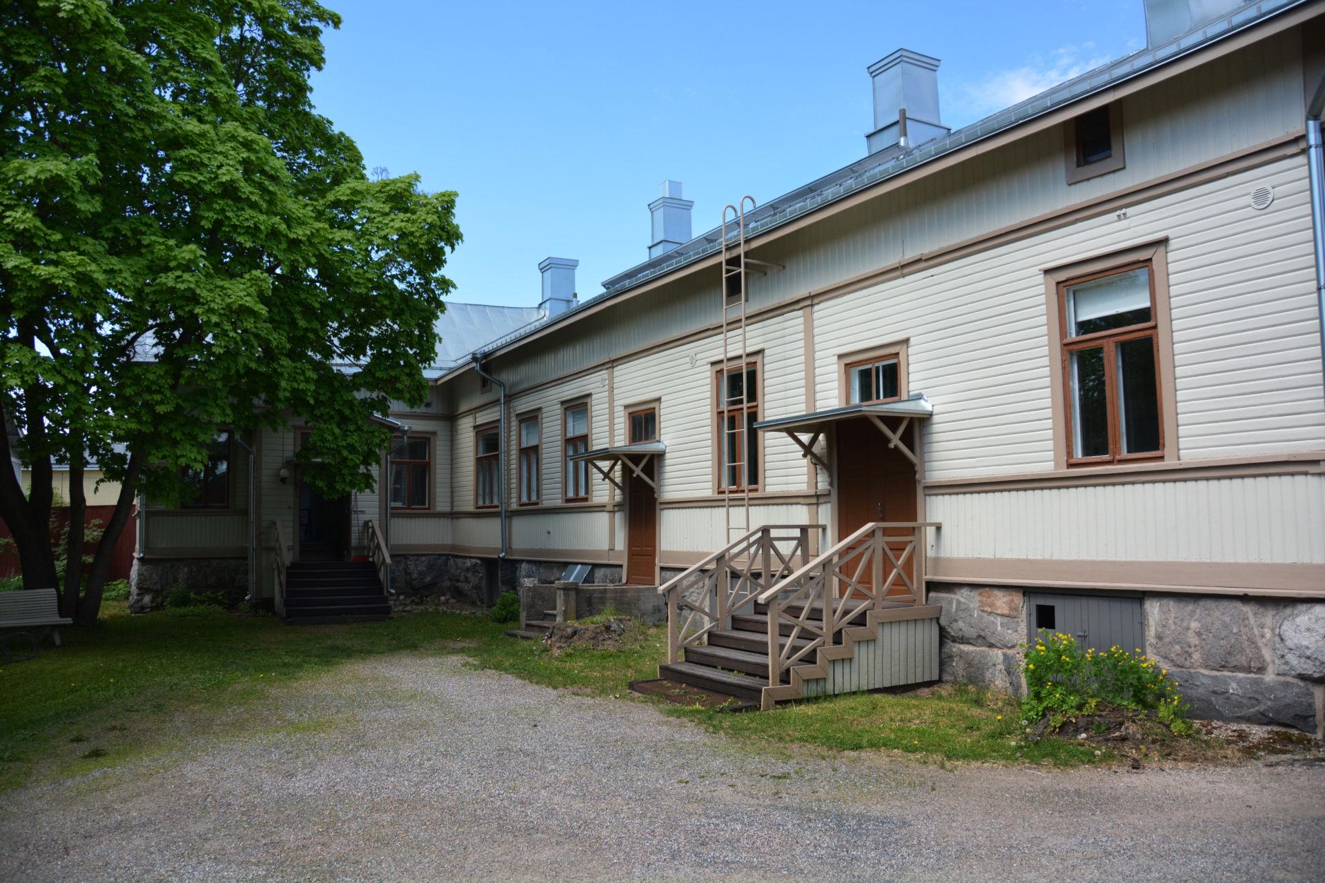 Tammela, sisäpiha - Vanha Rauma