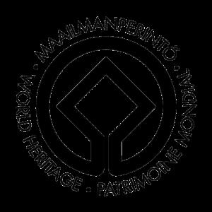 UNESCOn maailmanperintö logo.